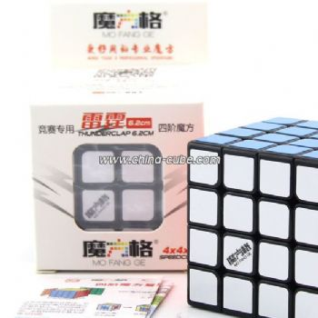 QiYi Mofangge Thunderclap Mini 6.2cm 4x4x4 Magic Cube - Black-base
