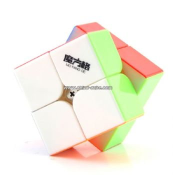 QiYi WuXia 2x2x2 Stickerless Speed Cube - Colorful