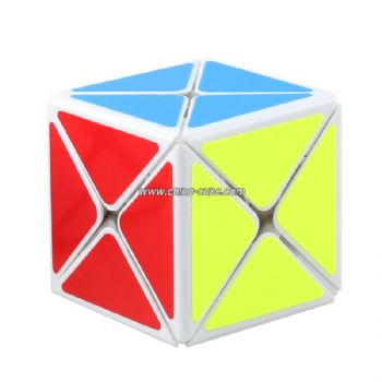 Shengshou Legend 8 Axis Magic Cube Puzzle Toy - White
