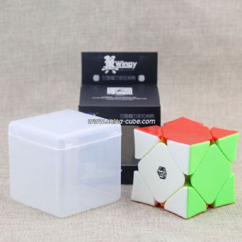 QiYi X-Man Magnetic Wingy Concave Skewb - Stickerless