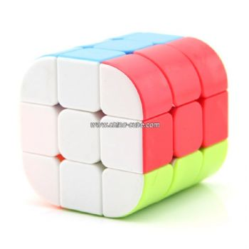 New Fanxin Cylinder Cube Stickerless Magic Cube Speed Twist Puzzle Educational Toys Cubo Magico Toys For Children Kids