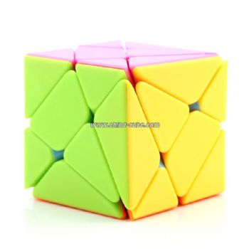 FanXin Axis Magic Cube Puzzle Stickerless color Twist Cubo Magico 3x3x3 Triangle Shape Twist Professional Educational Toys Games
