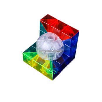 Cubing Classroom 3x3 Geometry Magic Cube Brain Teaser Puzzle Toy - Type A
