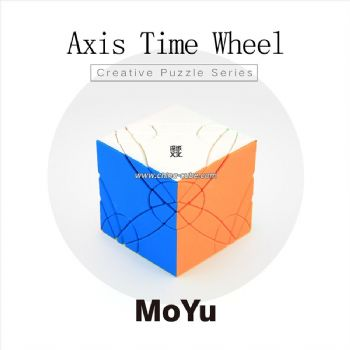 MoYu Axis Time Wheel Creative Magic Cube Puzzle Toys for Challenge - Colorful