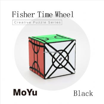 MoYu Fisher Yileng Time Wheel Speed Cube Toys - Black