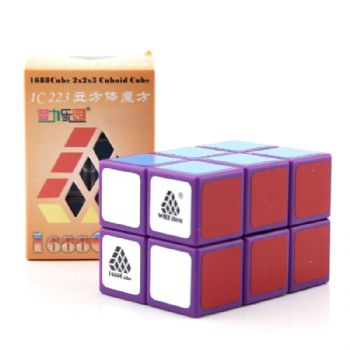 Witeden 1688Cube 2x2x3 立方体魔方 1688Cube 2x2x3 Cuboid Cube purple collection
