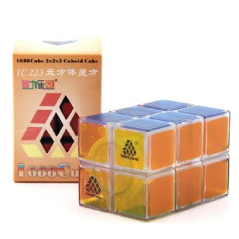 Witeden 1688Cube 2x2x3 立方体魔方 1688Cube 2x2x3 Cuboid Cube transparent collection