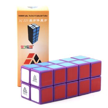Witeden 1688Cube 2x2x5 I 立方体魔方 1688Cube 2x2x5 I Cuboid Cube Purple Collection