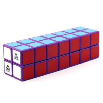 Witeden 1688Cube 2x2x7 立方体魔方 1688Cube 2x2x7 Cuboid Cube Purple Collection