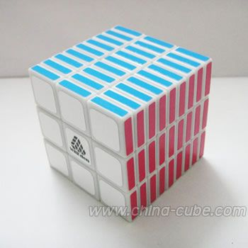 WitEden Cubic 3x3x9 I Magic Cube White